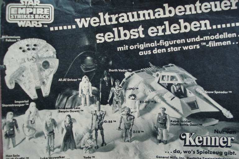 Vintage Star Wars French Toy Advertisements File